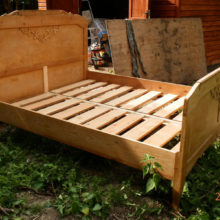 Cobnut Interiors Oak Bed